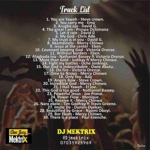 DJ Mektrix – Naija Non-Stop Gospel Worship Mixtape